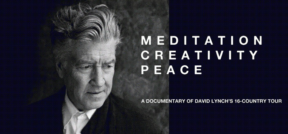 MEDITATION CREATIVITE PAIX : un documentaire sur David Lynch - mercredi 31 janvier 2018 à 19h30