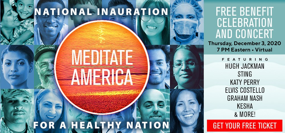 Enjoy the Meditate America Celebration Replay
